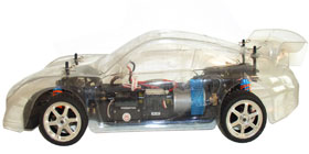 X-Treme XHC-100 Electric RC Race Car