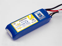 HYPERION LCX 2100 MAH 3S 18C LITHIUM POLYMER BATTERY PACK (11.1V)