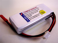 7.4 volt - 800mAh 8C Lipo Battery Pack for the Blade CX2