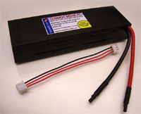 7.4 volt - 4400mAh 10C Li-Poly Pack for 1/10 Scale Trucks